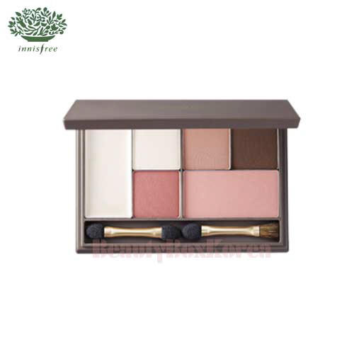 INNISFREE Yuna's Apricot Make Up Set with My Palette Medium [My Palette-Spring Warm Light]